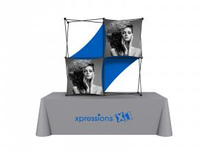 X1 5ft - 2x2 E Fabric Table Top Pop-Up Display