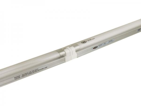 Modular Connectors are used to Attach T4 & T5 Fluorescent Slim Line Fixtures
