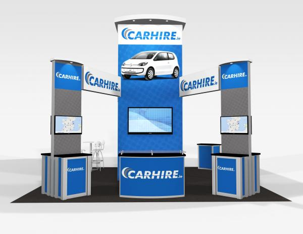 RE-9076 CarHire Trade Show Rental Exhibit -- Image 2
