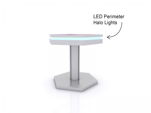 MOD-1466 Trade Show and Event Wireless End Table Charging Station -- Image 2