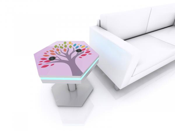 MOD-1466 Trade Show and Event Wireless End Table Charging Station -- Image 3