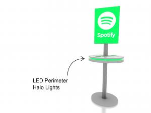 MOD-1475 Trade Show Lightbox Charging Station -- Image 2