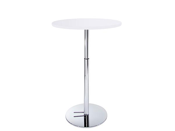 "30"" Round Bar Table w/ Hydraulic Base -- Trade Show Furniture Rental"
