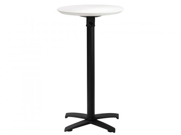 "Sonoma 24"" Round Outdoor Bar Table w/ Standard Black Base