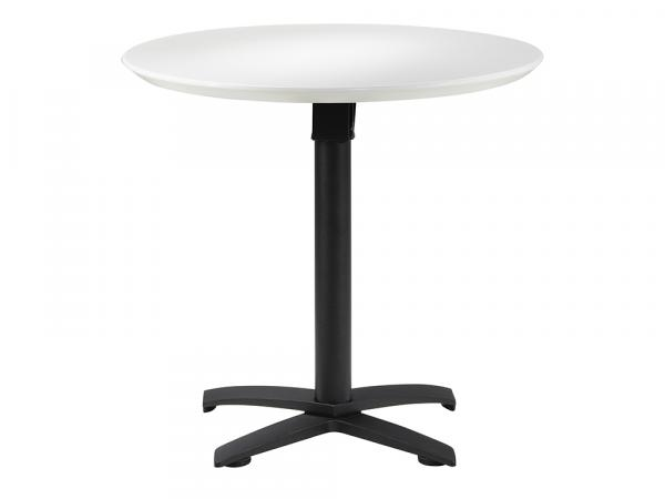 "Sonoma 32"" Round Outdoor Cafe Table w/ Standard Black Base