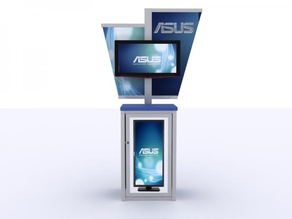 MOD-1206 Trade Show Workstation or Kiosk -- Image 2