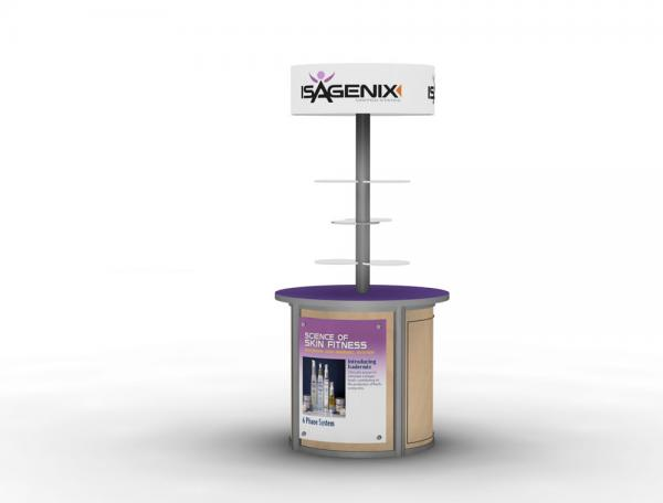 MOD-1209 Trade Show or Event Kiosk