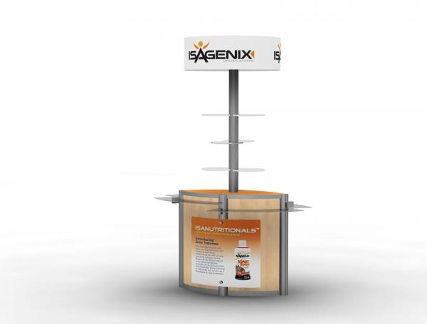 MOD-1210 Trade Show or Event Kiosk