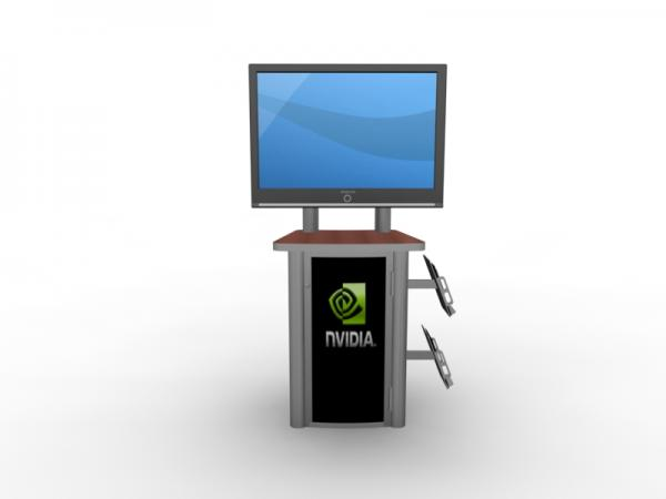 MOD-1245 Workstation/Kiosk for Trade Shows and Events -- Image 2