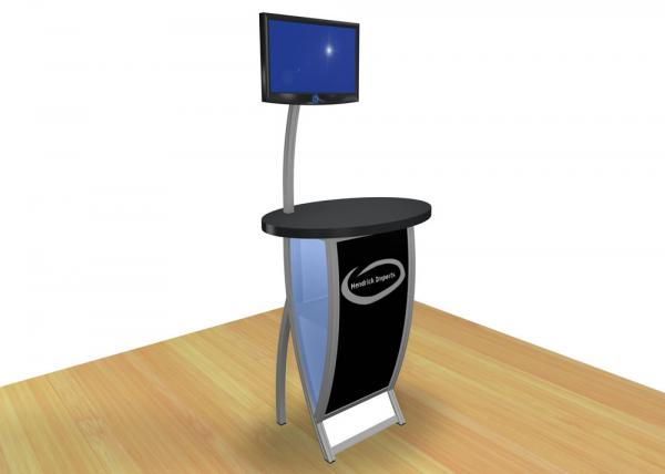 VK-1605 Trade Show Workstation or Kiosk -- Image 1