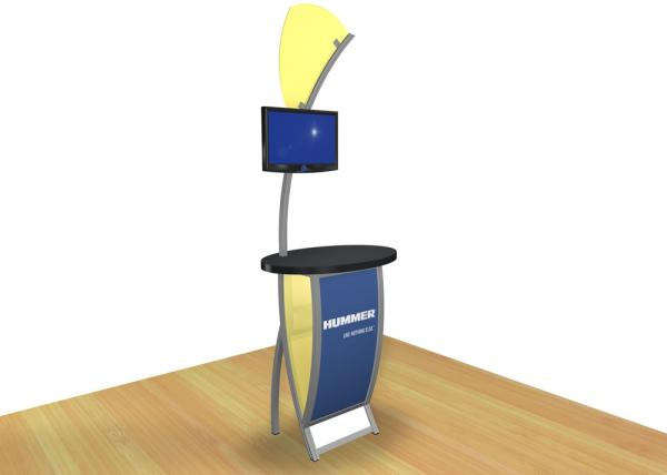 VK-1606 Trade Show Workstation or Kiosk -- Image 2