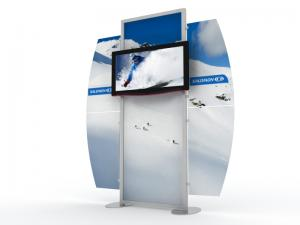 MOD-1518 Monitor Stand for Trade Shows and Events -- Image 1