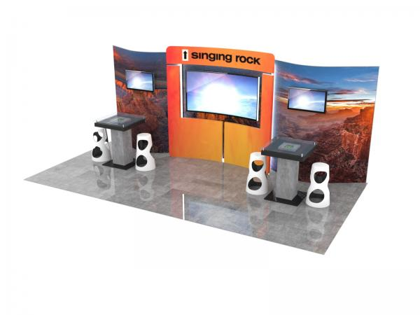 ECO-2125 Sustainable Trade Show Display -- Image 1