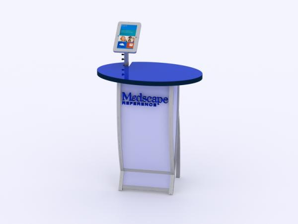 VK-1662M Trade Show Workstation or Kiosk -- Image 1