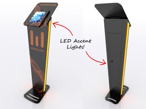 MOD-1373 iPad Stand with LED Accent Lights