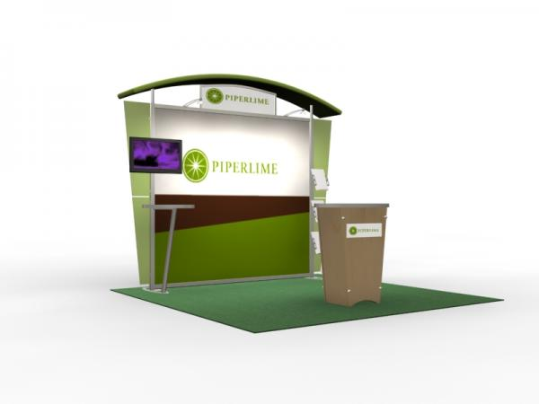DM-0626 Trade Show Exhibit with Silicone Edge Graphics (SEG) -- Image 2