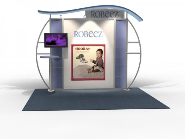 VK-1313 Trade Show Exhibit with Silicone Edge Graphics (SEG) -- Image 3