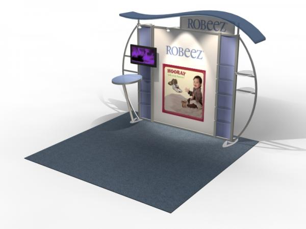 VK-1313 Trade Show Exhibit with Silicone Edge Graphics (SEG) -- Image 4