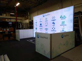 Rental LED Lightbox with Return Walls