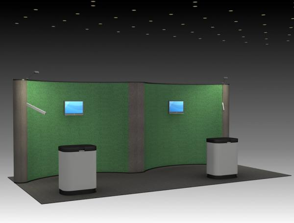 QD-211 Trade Show Pop-up Display