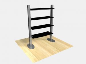 RE-1253 Freestanding Shelf Display -- Image 1