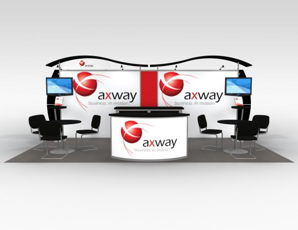 Axway Portable Hybrid Trade Show Exhibit -- Image 2